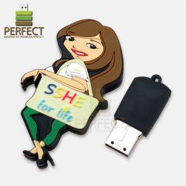 USB-แฟลชไดร์ฟ-ผู้หญิง